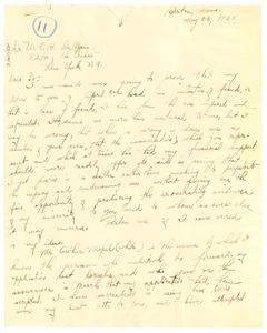 Thumbnail of Letter from Joberta Des Mukes to W. E. B. Du Bois