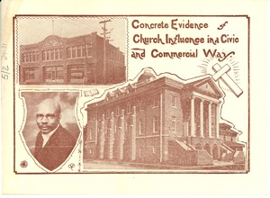 Thumbnail of Concrete evidence of church influence in a civic and commercial way