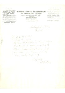 Thumbnail of Letter from Addie W. Hunton to W. E. B. Du Bois