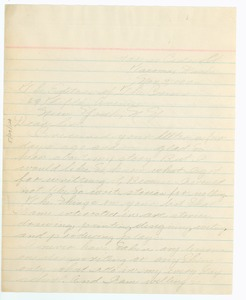Thumbnail of Letter from Ida Swan to Editor of the Crisis