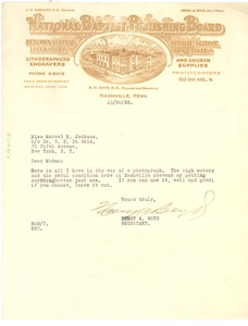 Thumbnail of Letter from Henry A. Boyd to Crisis
