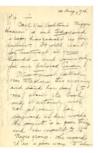Thumbnail of Letter from A. G. Dill to W. E. B. Du Bois