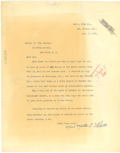 Thumbnail of Letter from Mattie L. Whitsitt to Editor of the Crisis