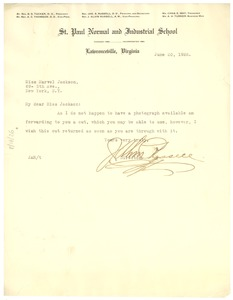 Thumbnail of Letter from James S. Russell to Crisis