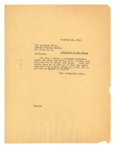 Thumbnail of Letter from W. E. B. Du Bois to The Berkeley Press