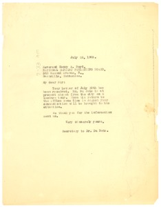 Thumbnail of Letter from Crisis to National Baptist Publishing Board