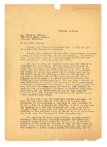Thumbnail of Letter from W. E. B. Du Bois to Julius Rosenwald Fund