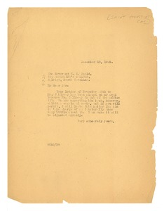 Thumbnail of Letter from W. E. B. Du Bois to Saint Augustine's College