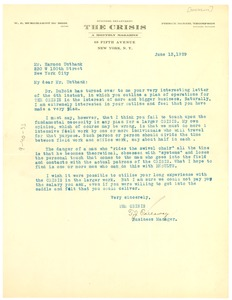 Thumbnail of Letter from Crisis to Harmon Unthank