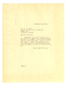 Thumbnail of Letter from W. E. B. Du Bois to William F. Penn