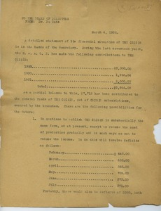 Thumbnail of Memorandum from W. E. B. Du Bois to N.A.A.C.P. Board of Directors