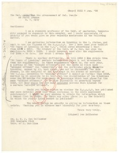 Thumbnail of Letter from Den Hollander to N.A.A.C.P.