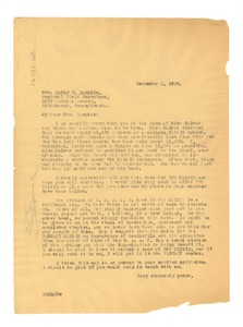 Thumbnail of Letter from W. E. B. Du Bois to N.A.A.C.P.