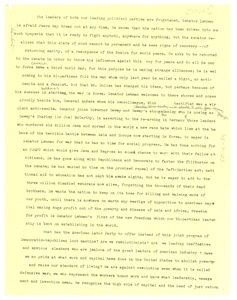 Thumbnail of Unidentified speech fragment on Senator Lehman