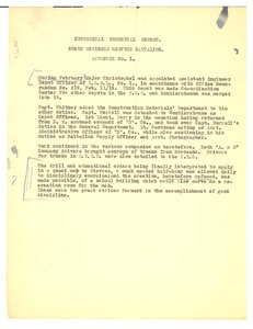 Thumbnail of 536th Engineer Service Battalion historical technical report
