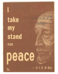 Thumbnail of I take my stand for peace
