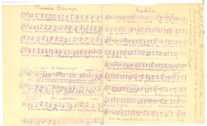 Thumbnail of Star of Ethiopia musical score