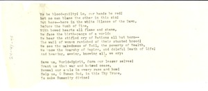 Thumbnail of A hymn to the people [fragment]