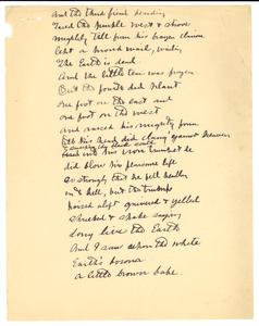 Poetry fragment