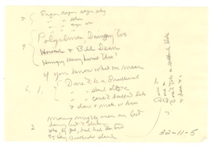 Thumbnail of Notes
