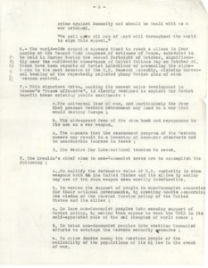 Thumbnail of Report on Soviet Union peace efforts [fragment]