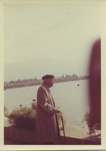 Thumbnail of W. E. B. Du Bois looking over Kunming Lake in Beijing, China