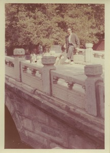 Thumbnail of Unidentified man at the Summer Palace in Beijing, China