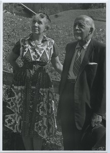 Thumbnail of Shirley Graham Du Bois and W. E. B. Du Bois in Switzerland