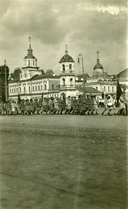 Thumbnail of Children marching, Red Square, Moscow