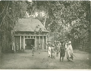 Thumbnail of Entrance to the village, Fumban, Cameroon
