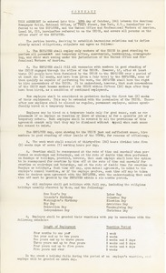Thumbnail of Contract between American Newspaper Guild and United Office and Professional             Workers of America Local 16