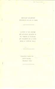 First page of Drake, J.G. St. Claire