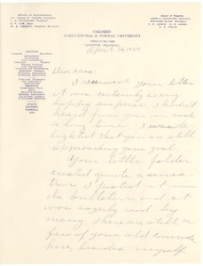 First page of Lee, B.F.