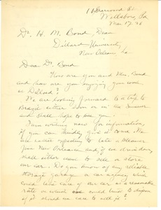 First page of Shaw, A.F.