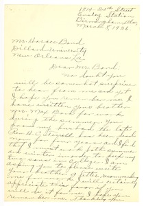 First page of Terrell, Mabel