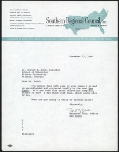 First page of Southern Regional Council