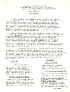 First page of Articles