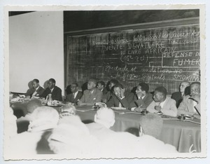 First page of First World Congress of Black Writers and Artists