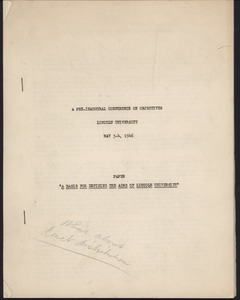 First page of Speeches and writings