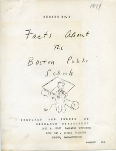 Thumbnail of Facts about the Boston Public Schools