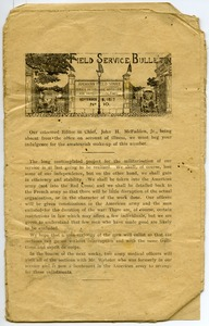 Thumbnail of American Field Service bulletin No. 10