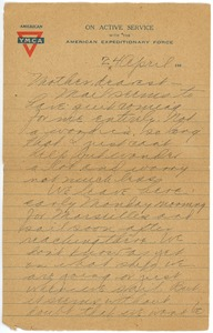 Thumbnail of Letter from Clinton T. Brann to Martha Brann