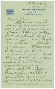 Thumbnail of Letter from Clinton T. Brann to Rhea Oppenheimer