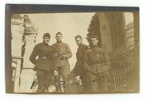 Thumbnail of American officers on leave