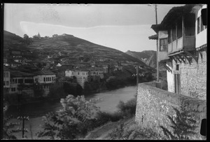Thumbnail of Villages Veles [view of village and river]