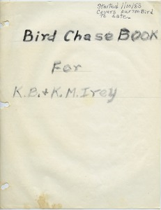 Thumbnail of Bird chase book
