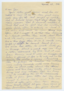 Thumbnail of Letter from Katherine Irey to Janet MacDowell
