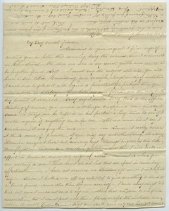 Thumbnail of Letter from Emma Cunningham to Louisa Gass