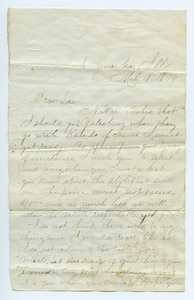 Thumbnail of Letter from Florence Boden to Louise Gass