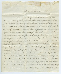 Thumbnail of Letter from  unidentified correspondent to Sidney Boden
